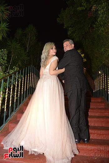 صور زفاف توفيق عكاشة و حياة الدرديرى  (18)