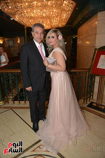 صور زفاف توفيق عكاشة و حياة الدرديرى  (11)
