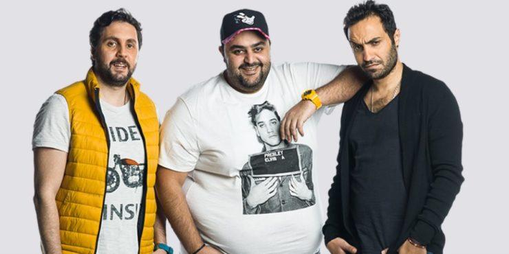 أحمد فهمى وشيكو وهشام ماجد