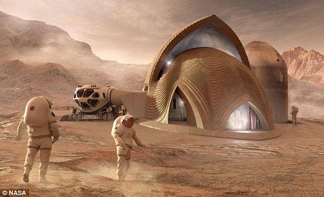 مساكن البشر على المريخ