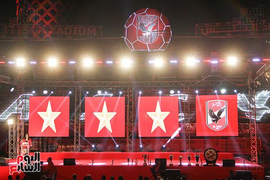صور حفل تكريم الفرق الرياضية بالاهلى (2)