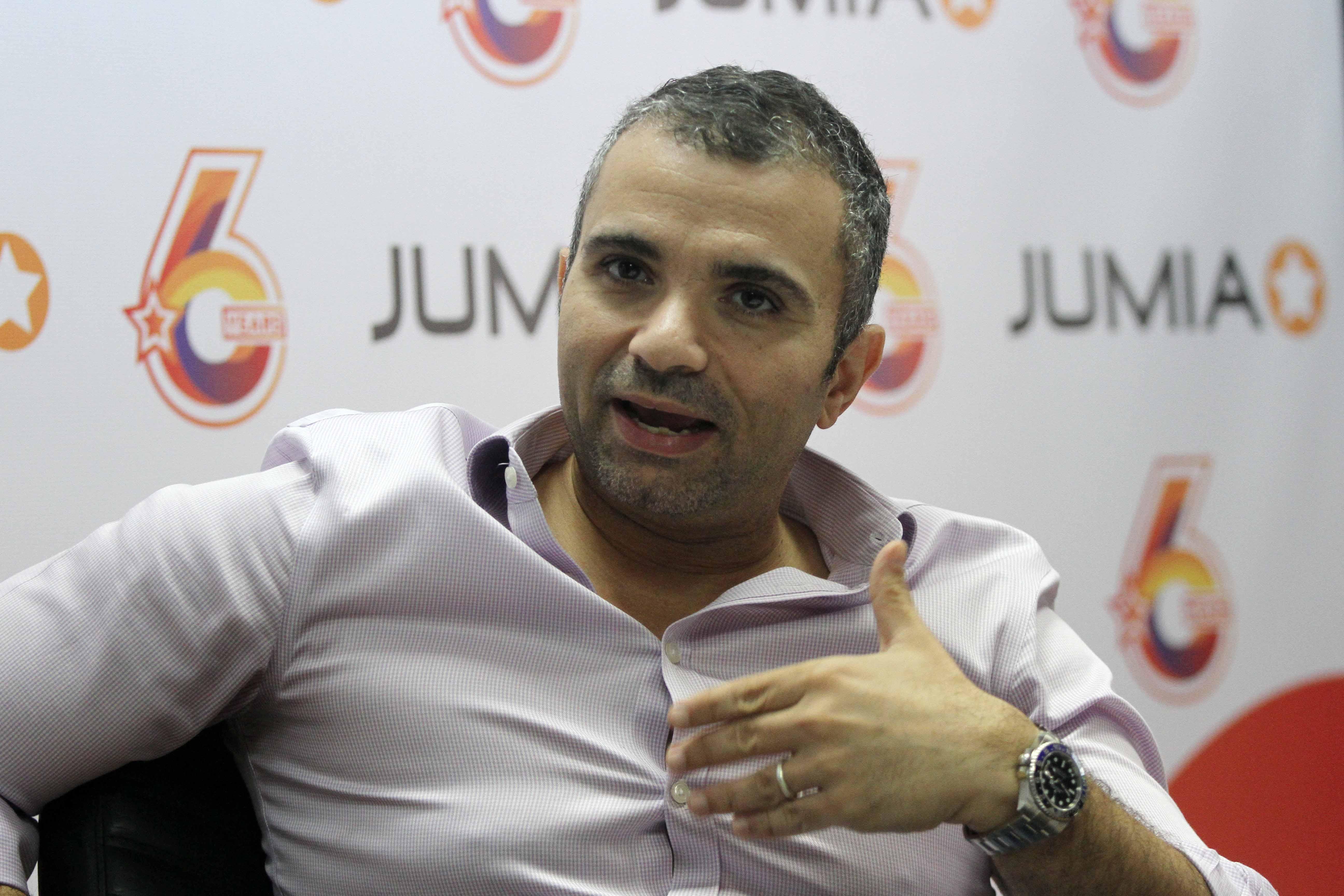 هشام صفوت الرئيس التنفيذى لجوميا مصر