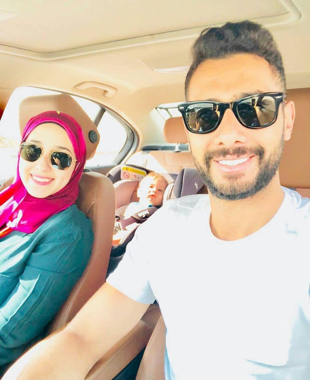 حمد عادل و زوجته ناريمان