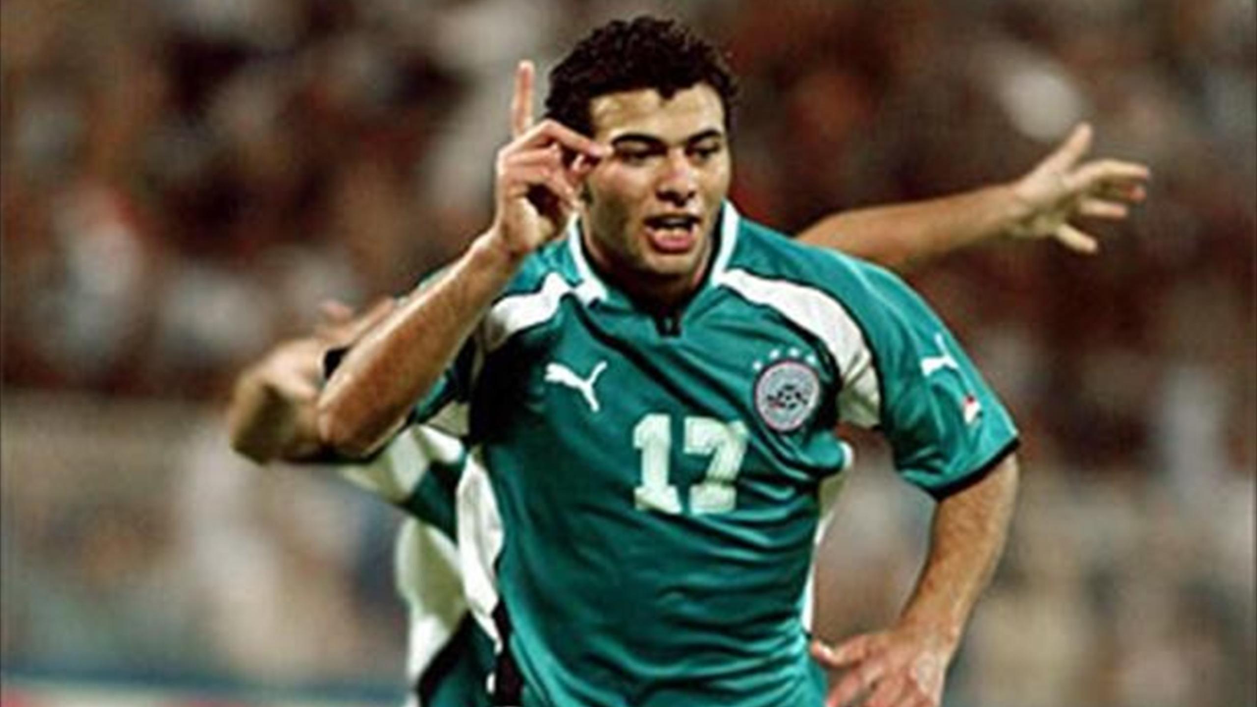 عماد متعب مع منتخب مصر في 2003