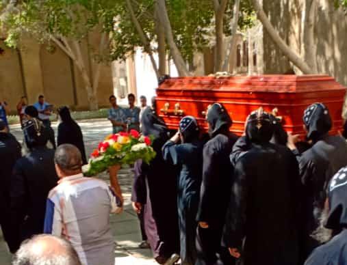 جثمان الأنبا إبيفانيوس أسقف ورئيس دير الأنبا (3)