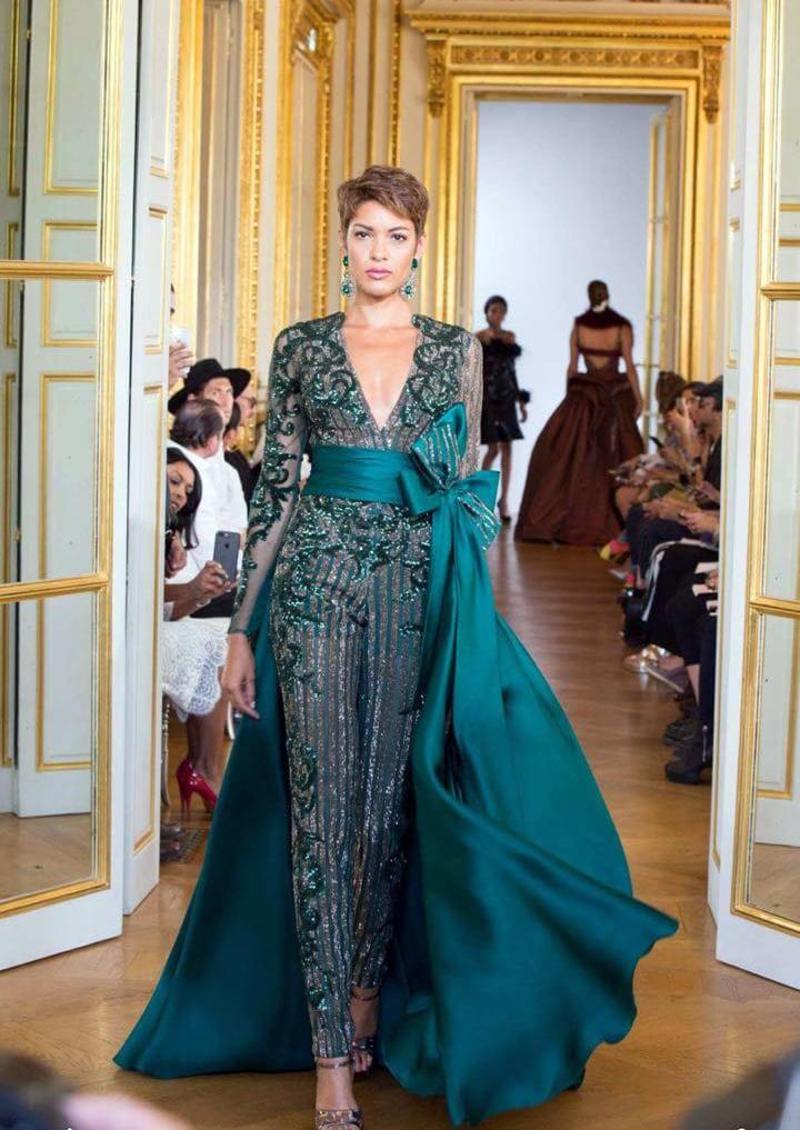 جانب من عرض أزياء هانى البحيرى بأسبوع الموضة الفرنسى (2)