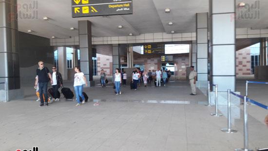 أكبر عدد رحلات ألمانية يصل الغردقة