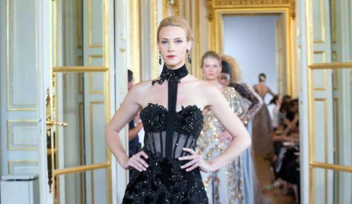 جانب من عرض أزياء هانى البحيرى بأسبوع الموضة الفرنسى (5)