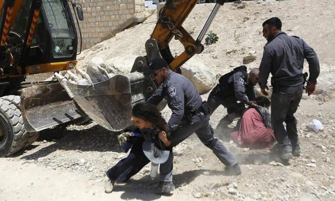 تهجير الشعب الفلسطينى من الخان الاحمر
