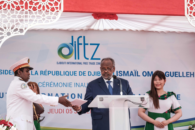 رئيس جيبوتي إسماعيل عمر جيل