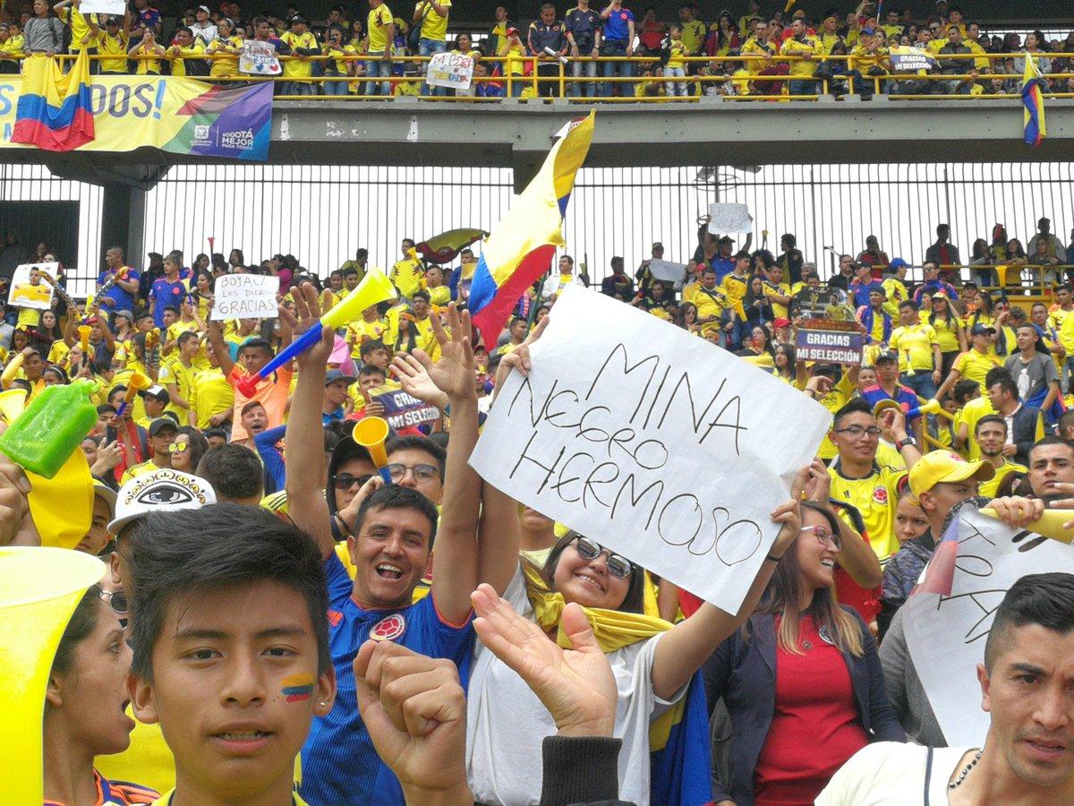 الجماهير الكولومبية تستقبل اللاعبين (4)
