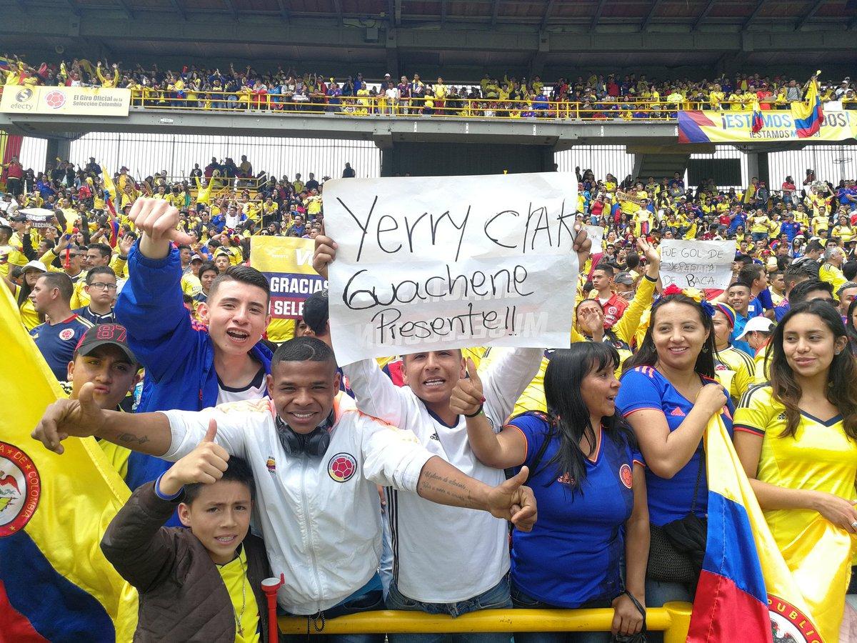 الجماهير الكولومبية تستقبل اللاعبين (3)