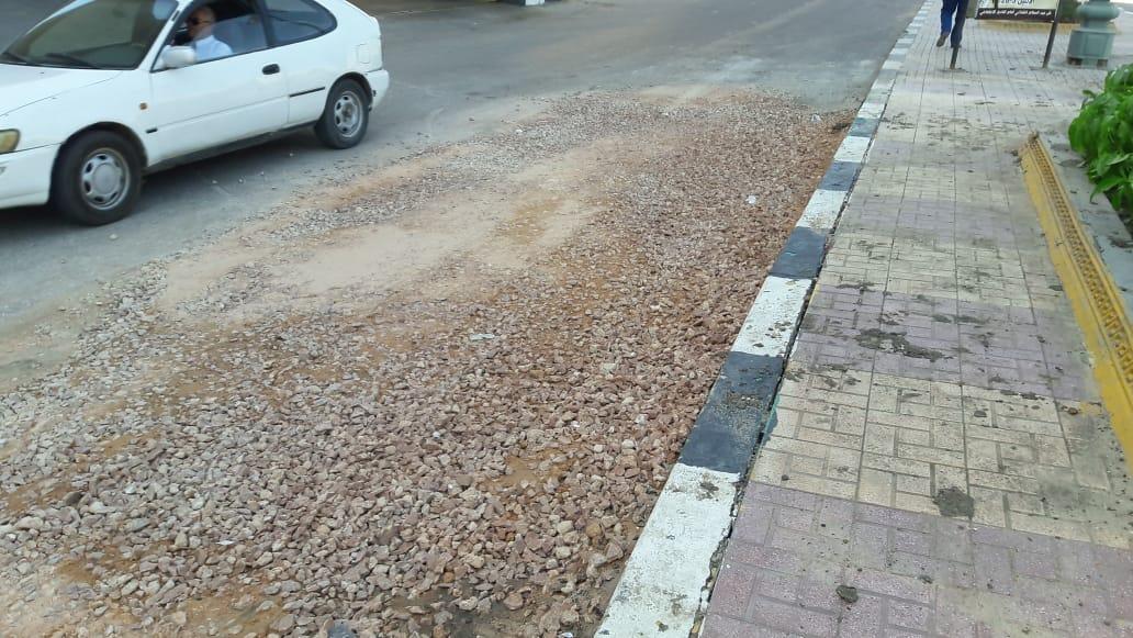 إصلاح الهبوط الأرضى بمدينة دمنهور (4)