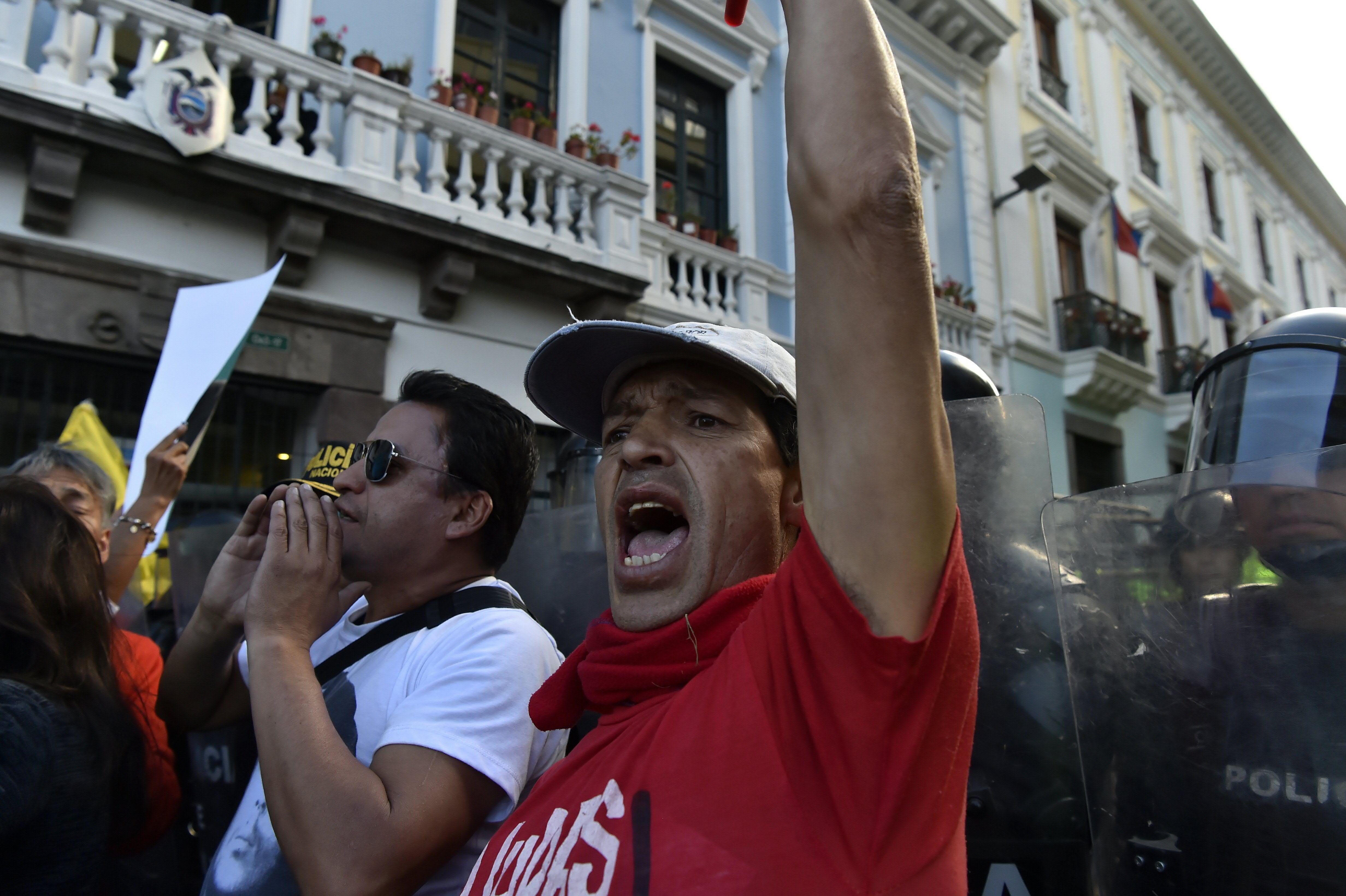 مظاهرات الإكوادور