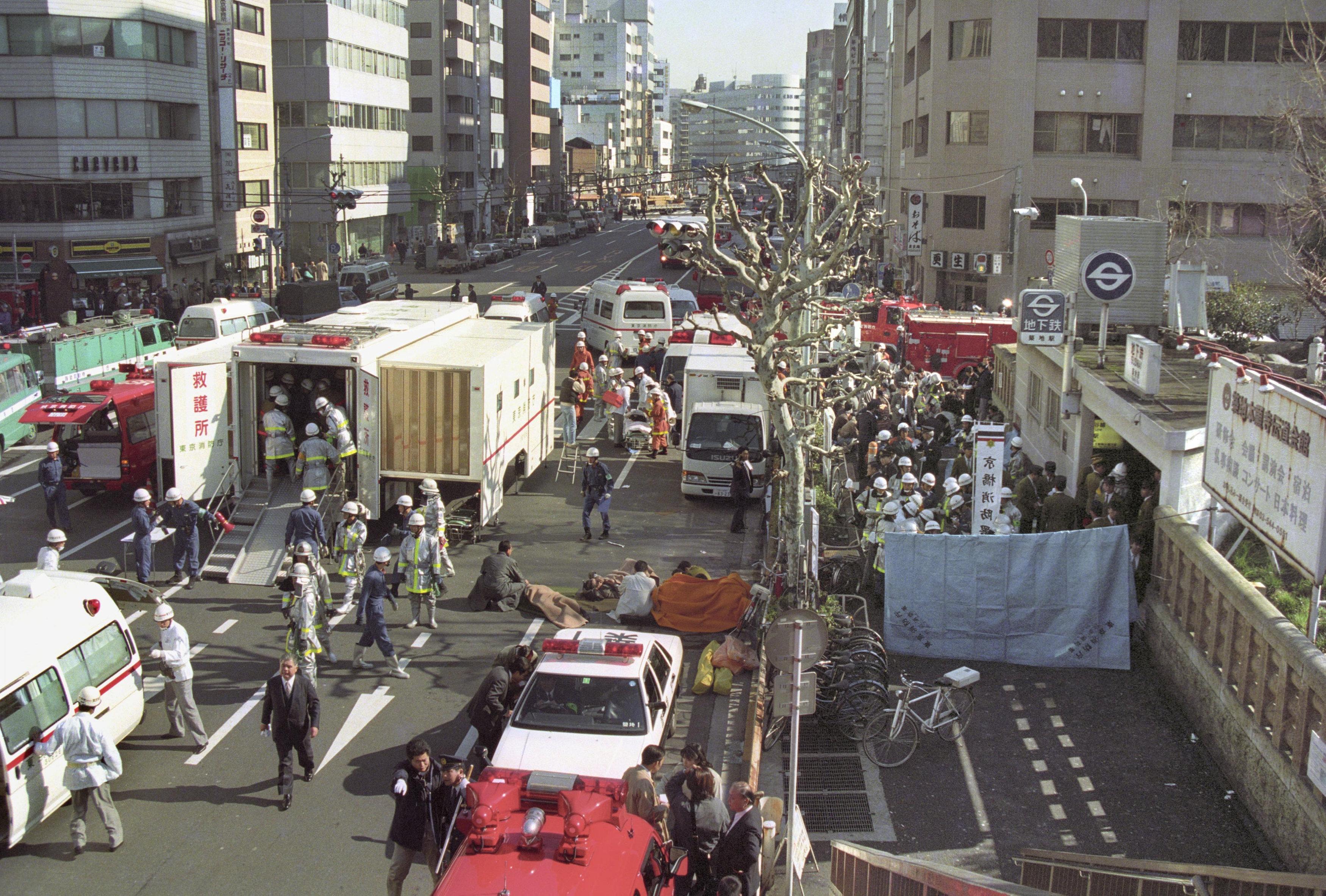 جانب من الحادث عام 1995