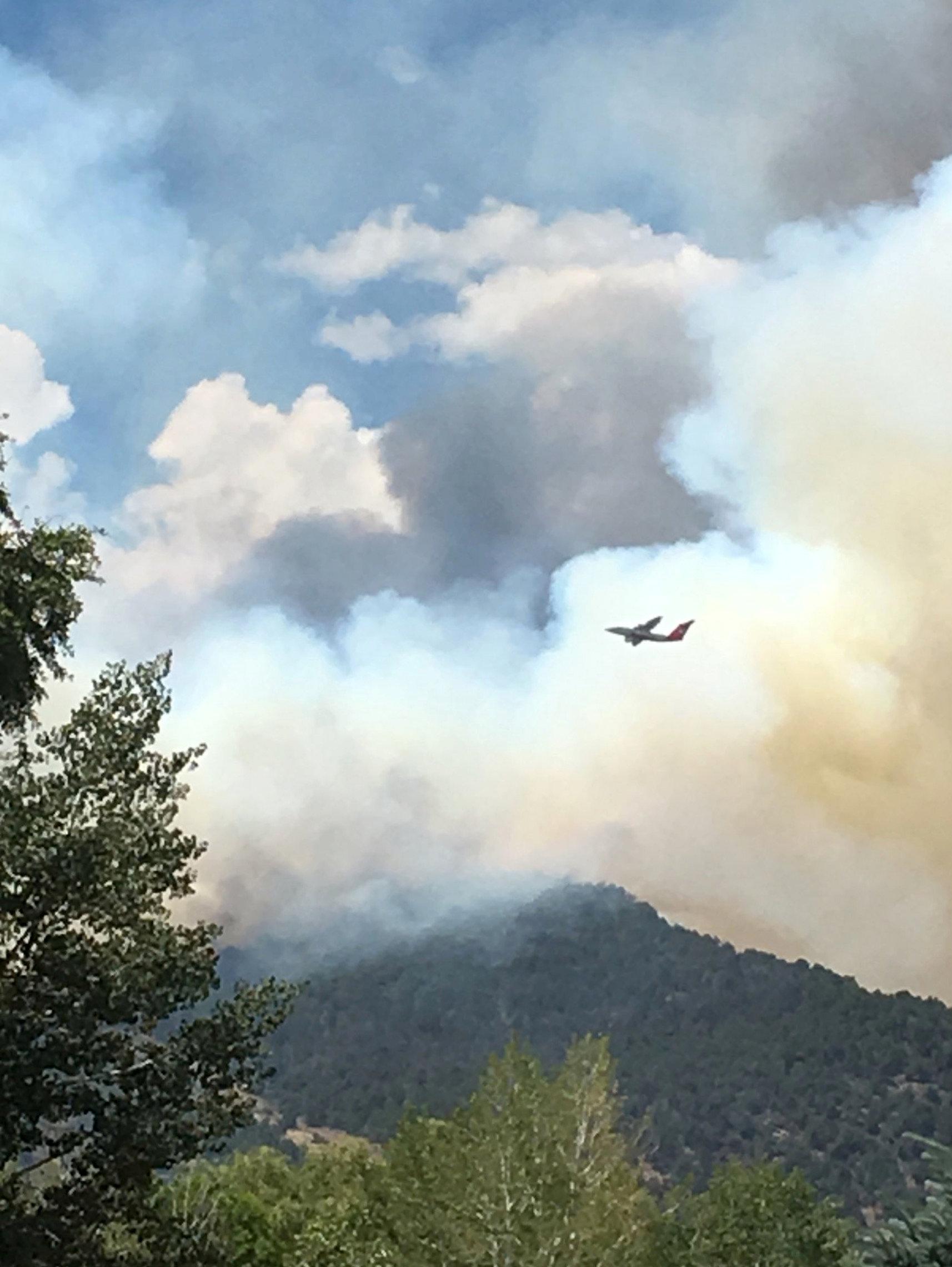 حرائق الغابات فى ولاية كولورادو