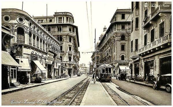 شارع عماد الدين قديما