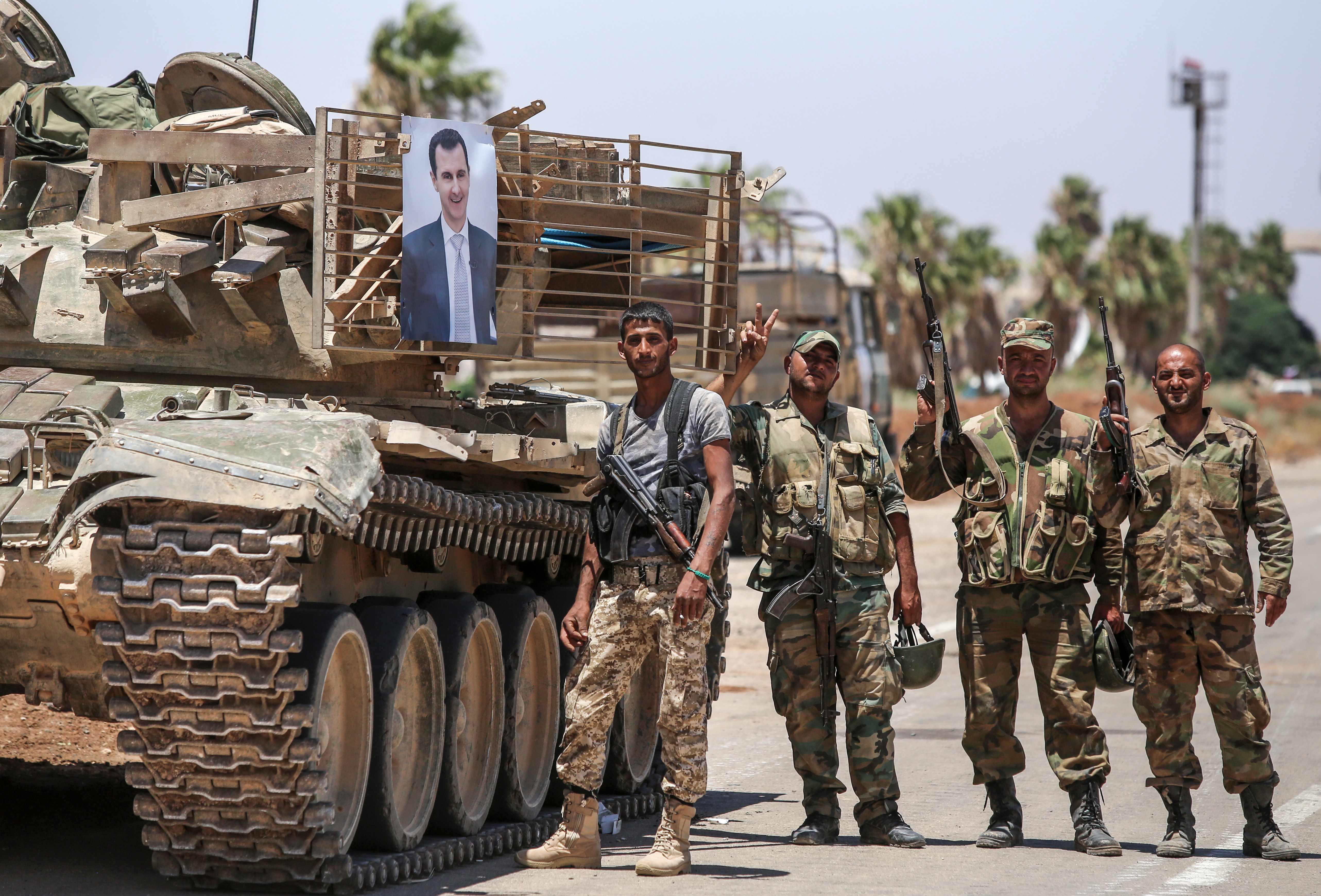 آليات الجيش السوري