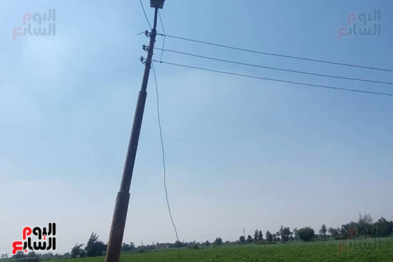 سقوط أسلاك الكهرباء (1)