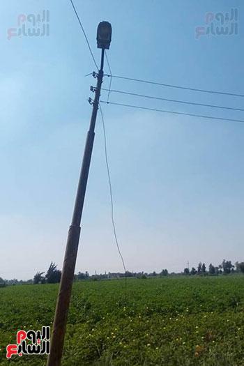 سقوط أسلاك الكهرباء (3)