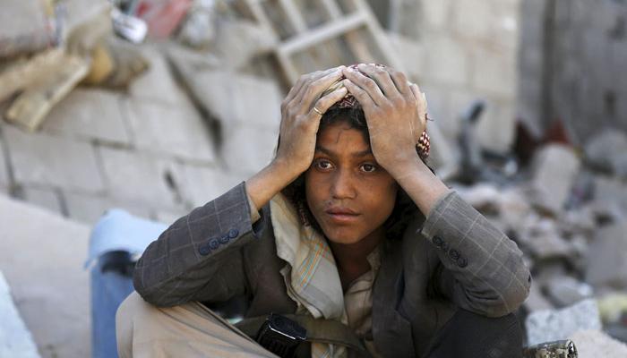 طفل يمنى