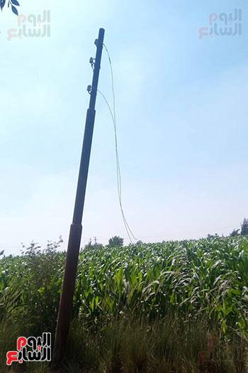 سقوط أسلاك الكهرباء (2)