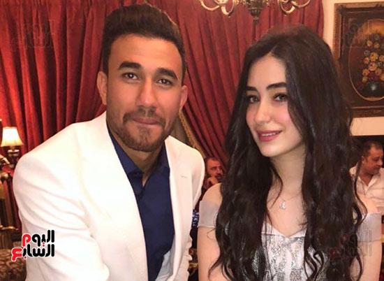 محمود تريزيجيه وخطيبته