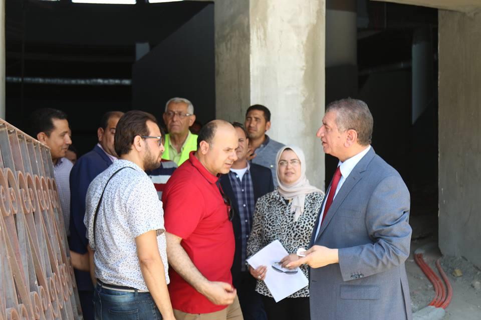 1- محافظ كفر الشيخ يتفقد المتحف
