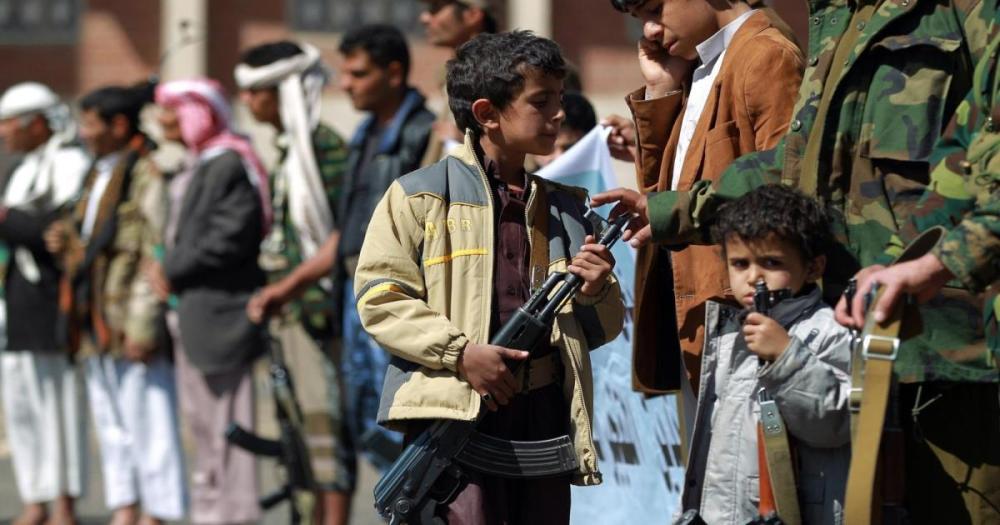 تجنيد الأطفال فى اليمن