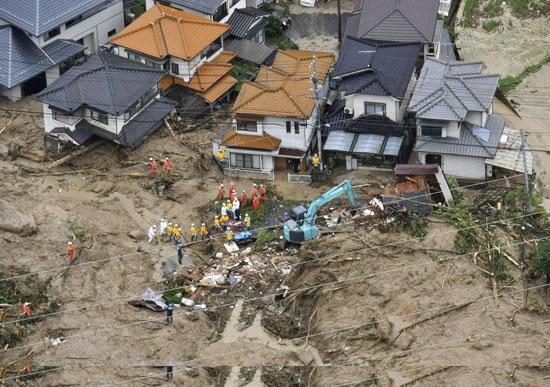 تدمير المنازل بسبب الأمطار