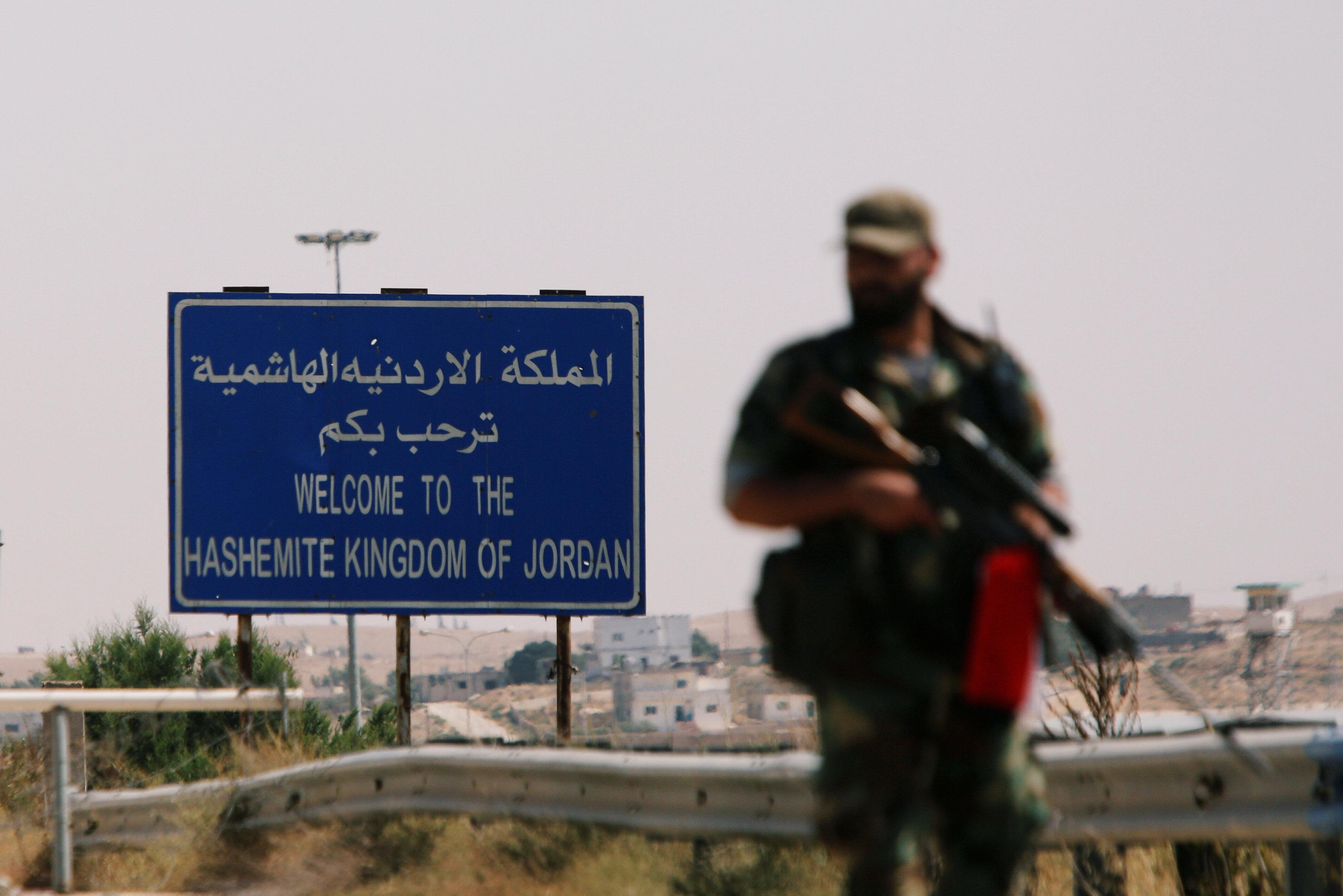 الحدود الأردنية السورية