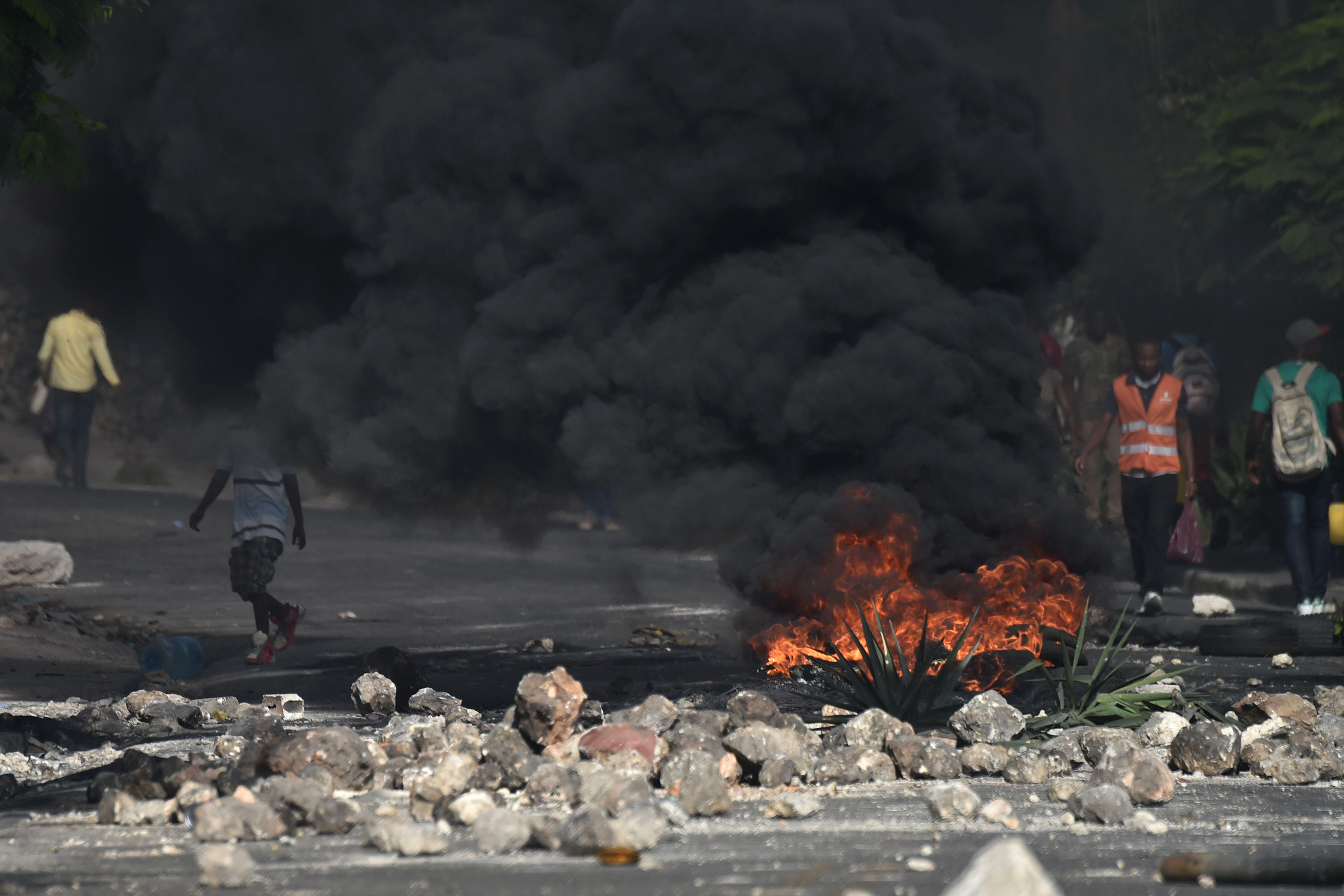 اعمال العنف فى هايتى