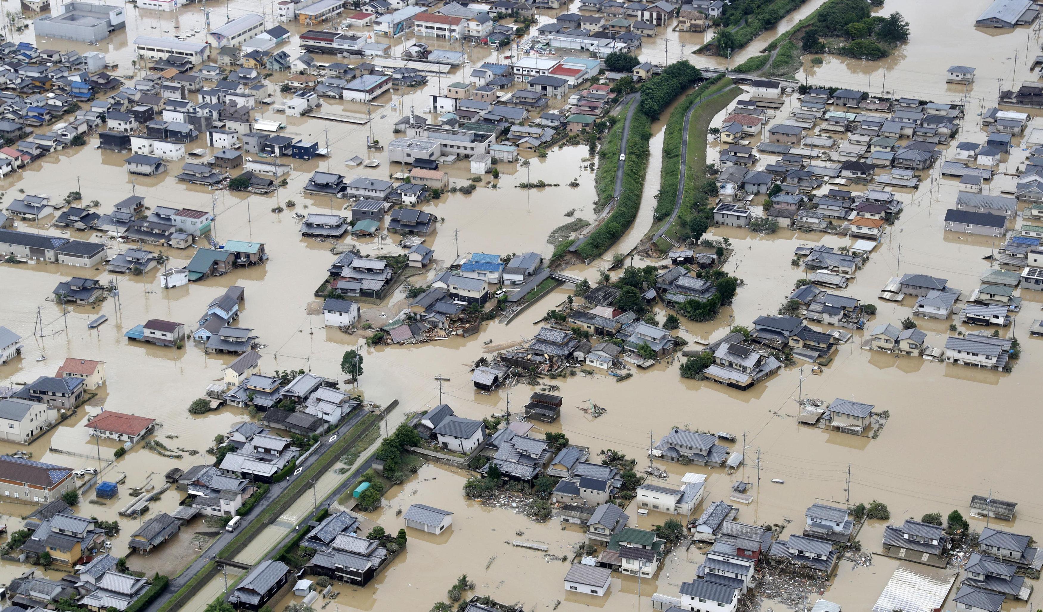 أمطار اليابان