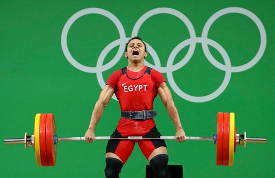 أحمد سعد بطل اعلي الاثقال