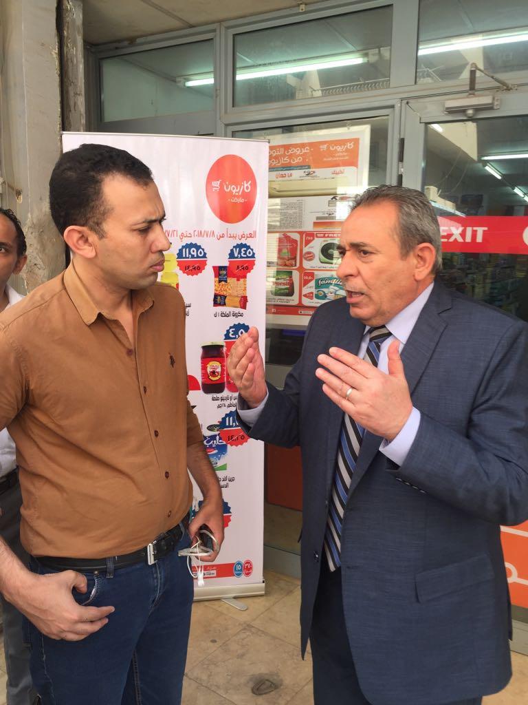 اللواء أنور سعيد مساعد وزير الداخلية لشرطة التموين