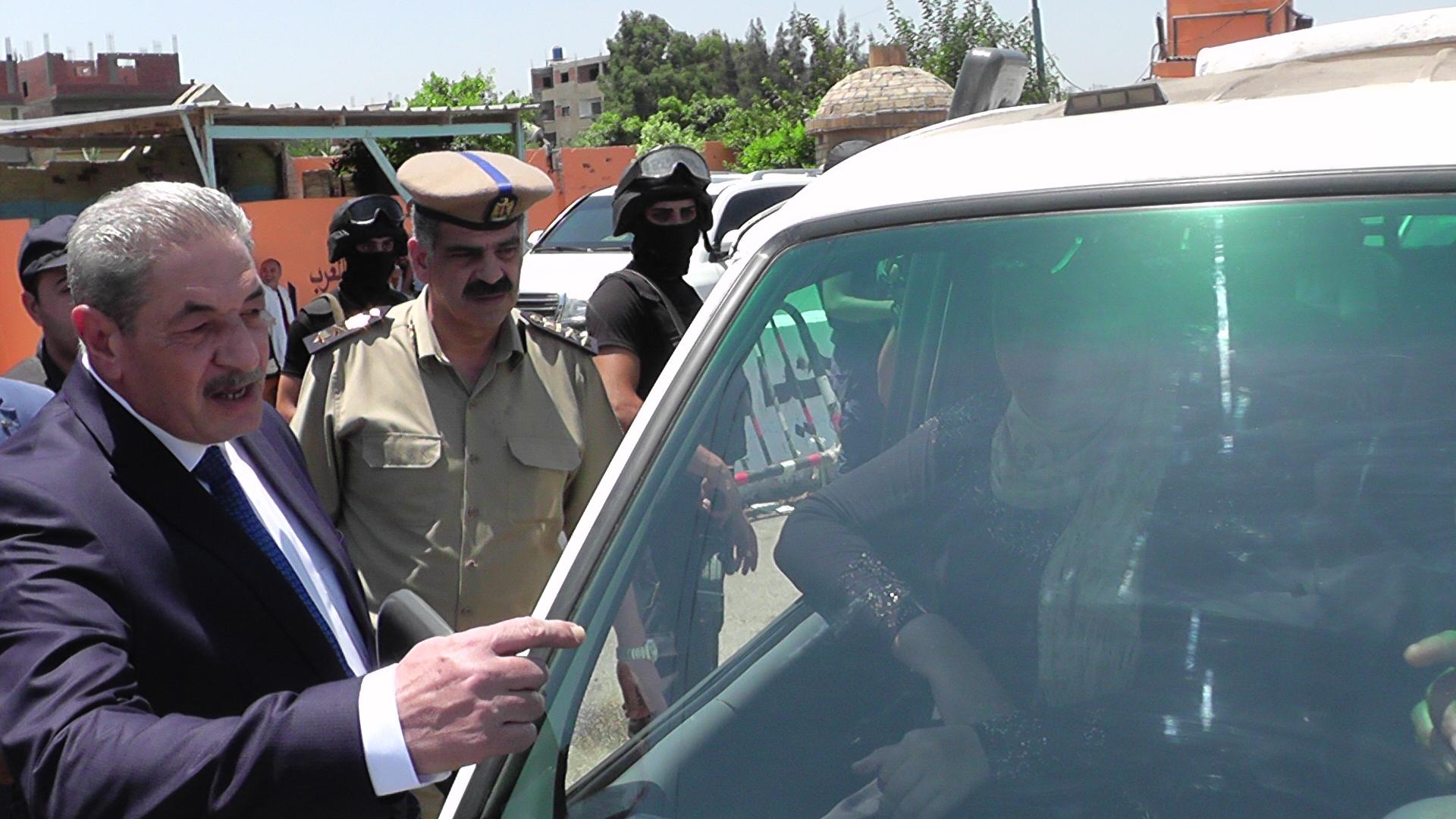 مدير امن الدقهلية يقود حملة مرورية