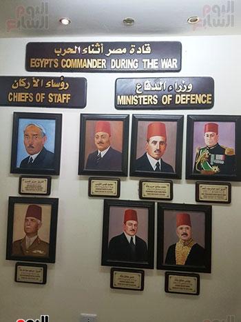 قادة الجيش المصرى خلال فترة الحرب العالمية