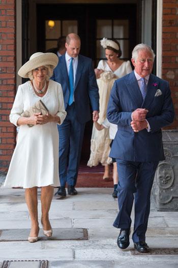 وصول الأمير تشارلز