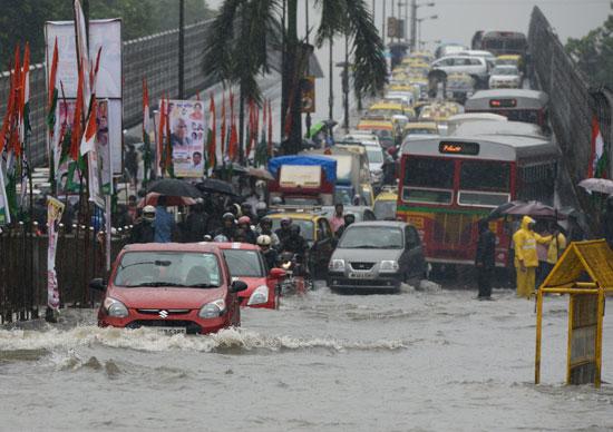 توقف حركة المرور فى الهند