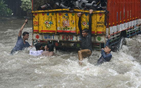 جانب من فيضان الهند