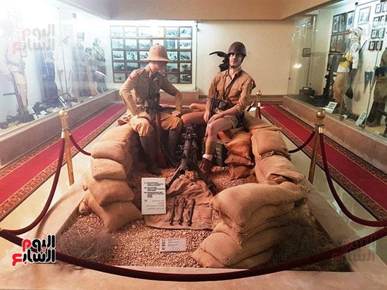 متحف العلمين ا بانوراما تاريخية تجسد ذكرى الحرب العالمية الثانية