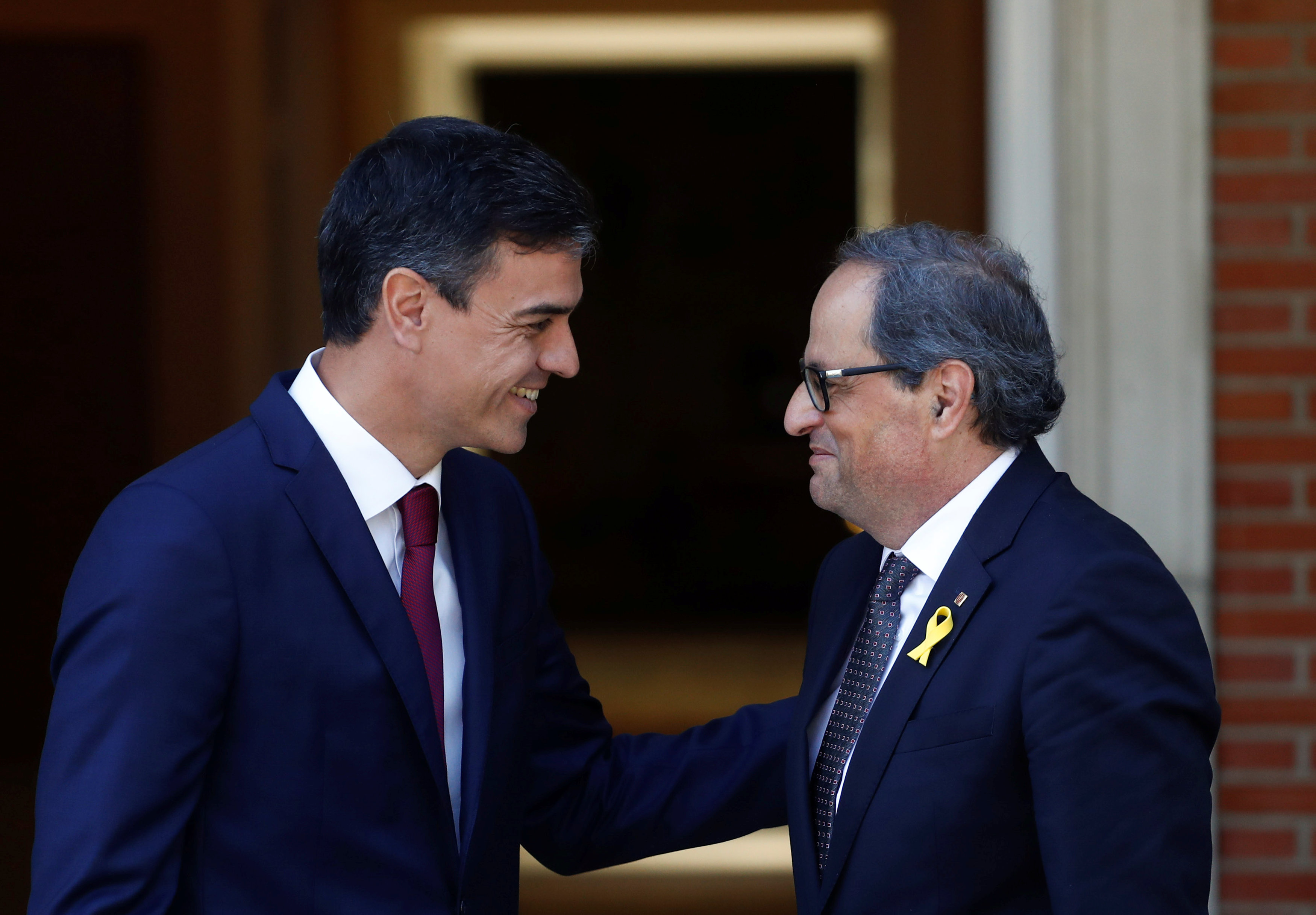 رئيس وزراء إسبانيا ورئيس إقليم كتالونيا الجديد