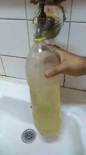 مياه ملوثه