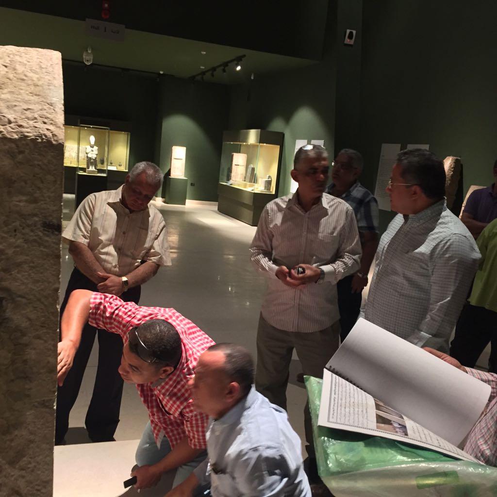 وزير الآثار يتابع أعمال متحف سوهاج لقرب افتتاحه (8)