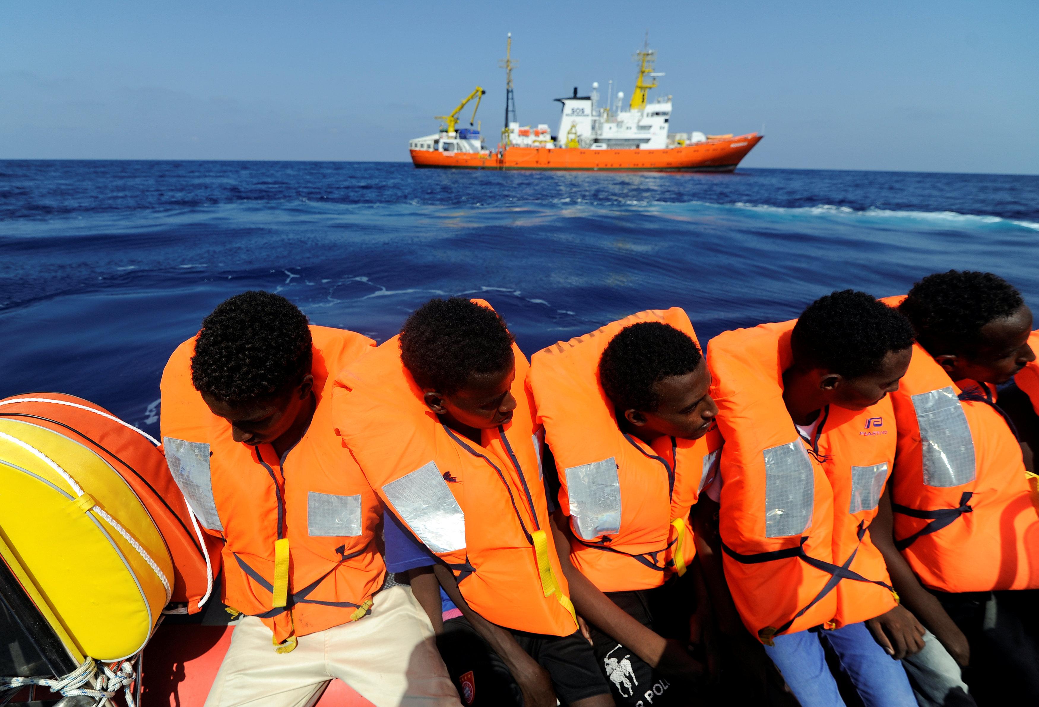 سفينة الإنقاذ MV Aquarius