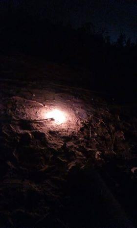 سقوط سلك تيار عالى وسط مساكن قرية أبو شميس (2)