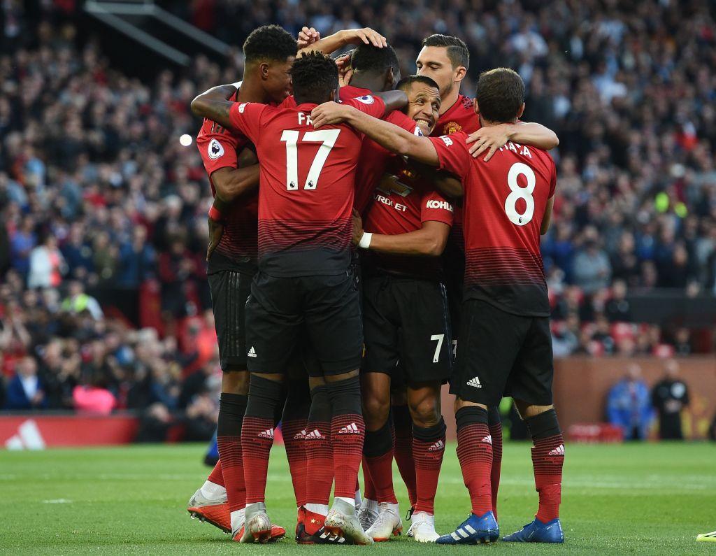 مباراة مانشستر يونايتد وليستر سيتي (2)