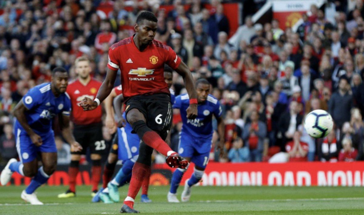 مباراة مانشستر يونايتد وليستر سيتي (1)