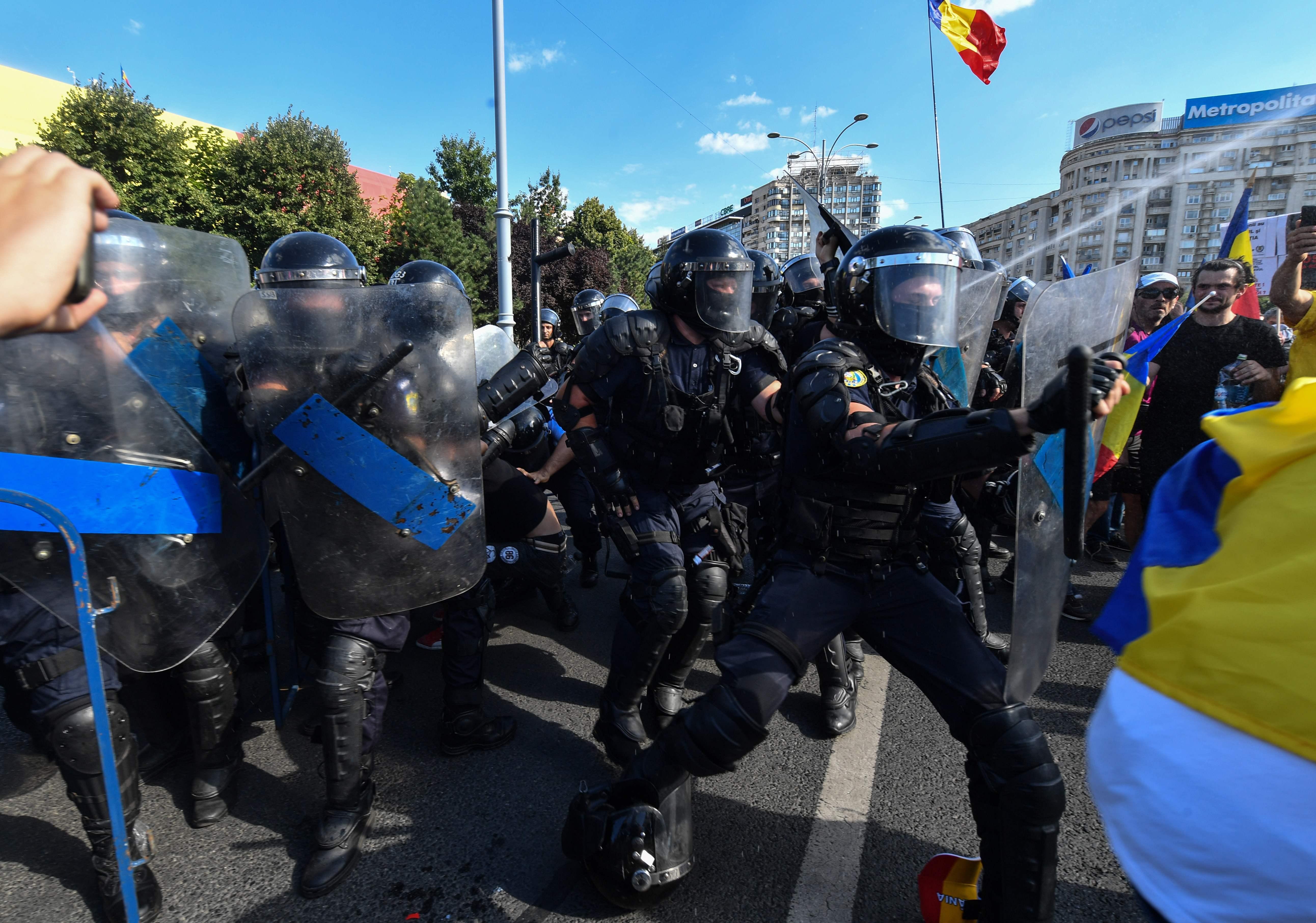 تظاهرات بوخارست