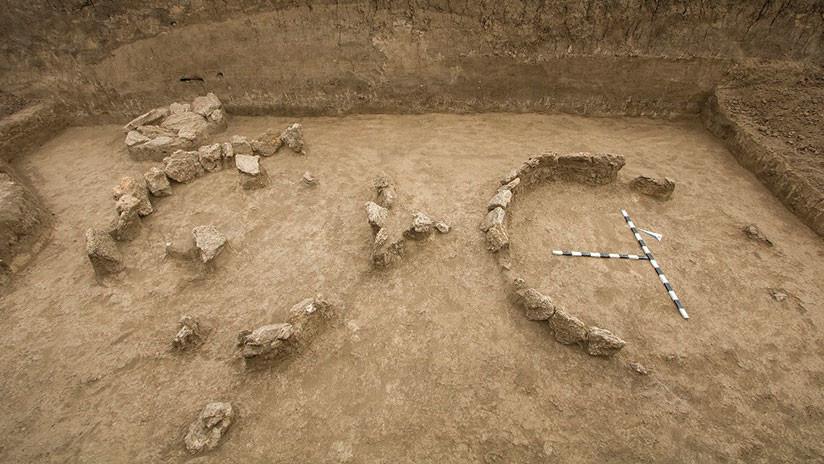 صورة لسرداب الموتى المكتشف فى روسيا
